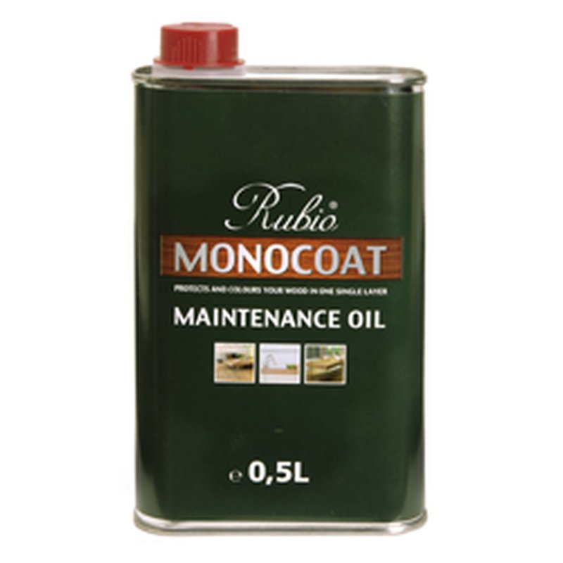 Rubio Monocoat Maintenance Oil universal brown, black, white, grey